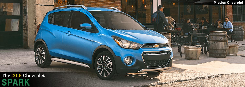 Amazing 2018 Chevrolet Spark Model Features In El Paso, TX