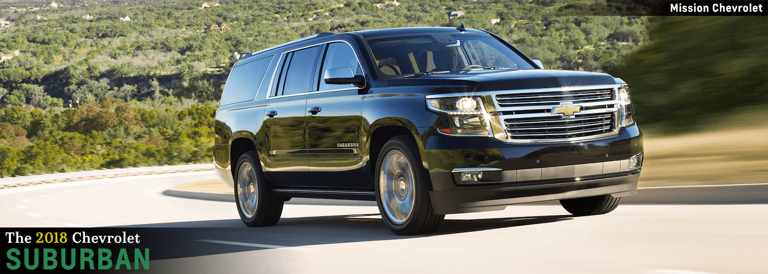 2018 Chevrolet Suburban Model Features In El Paso, TX