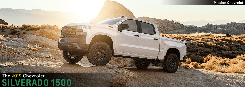 The All New 2019 Chevy Silverado 1500 Model Details For El Paso Tx