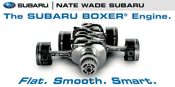 Salt Lake City Subaru Boxer Engine Engineering Information & Design Specs