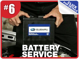 Subaru battery service information from Nate Wade Subaru in Salt Lake City, UT