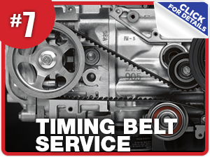 Subaru timing belt service and replacement information from Nate Wade Subaru in Salt Lake City, UT