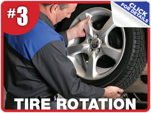 Subaru tire rotation information from Nate Wade Subaru in Salt Lake City, UT