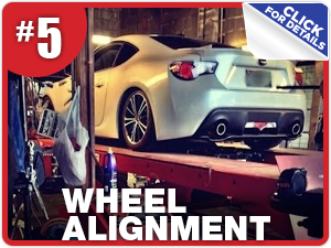 Subaru wheel alignment service information from Nate Wade Subaru in Salt Lake City, UT