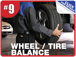 Subaru wheel and tire balance service information from Nate Wade Subaru in Salt Lake City, UT