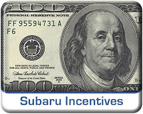 Salt Lake City Subaru Incentives