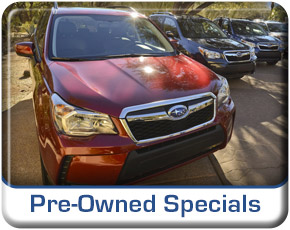 Salt Lake City Subaru Pre-Owned Specials