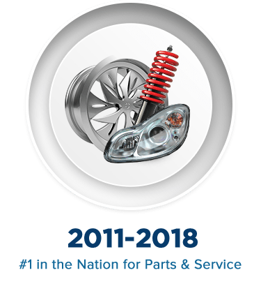 Subaru National #1 in the Nation for Parts & Service Dealership in Salt Lake City, UT