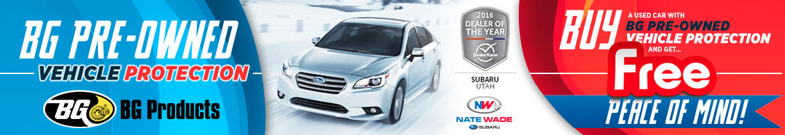 Learn more about BG pre-owned vehicle protection from Nate Wade Subaru in Salt Lake City, UT
