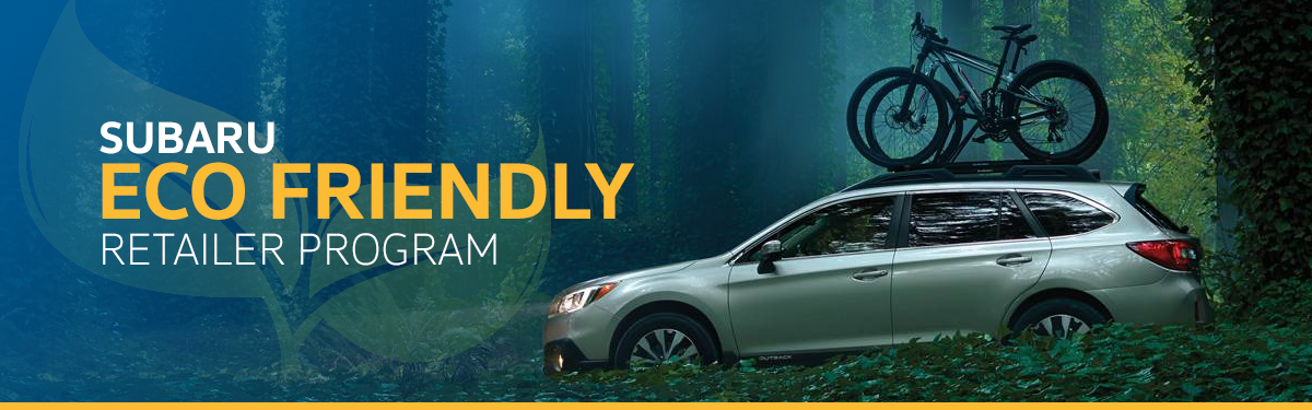 Subaru Eco-Friendly Retailer Program in Salt Lake City, UT