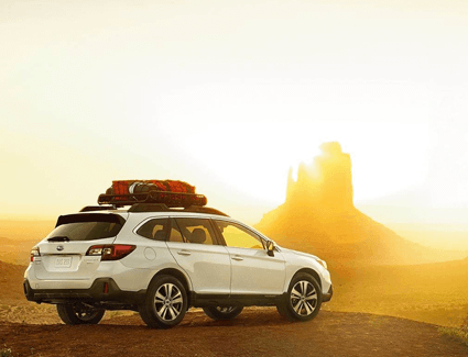 Get ready for your long road trip at Nate Wade Subaru.