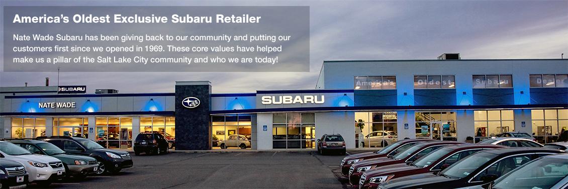 Nate Wade Subaru America's Oldest Exclusive Subaru Retailer