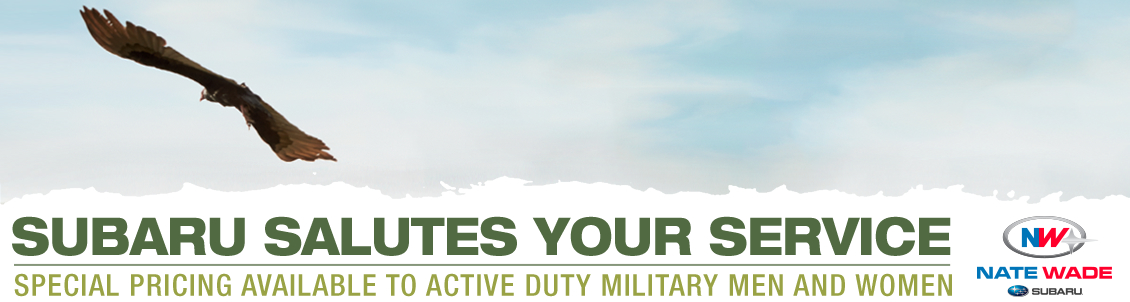 Subaru salutes your service with the Military Incentive Program in Salt Lake City, UT