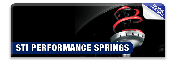 Click to learn more about genuine Subaru performance parts like STI performance springs available at Nate Wade Subaru in Salt Lake City, UT