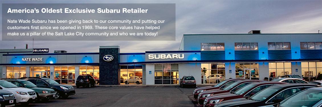Nate Wade Subaru - America's Oldest Exclusive Subaru Retailer