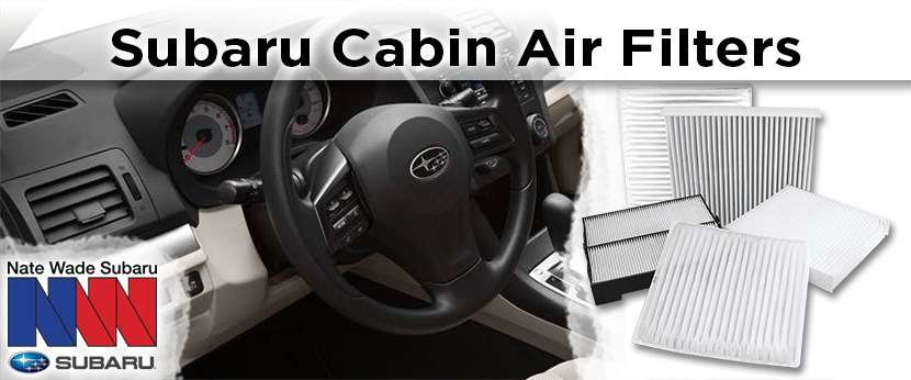 Learn more about genuine Subaru cabin air filters in Salt Lake City, UT