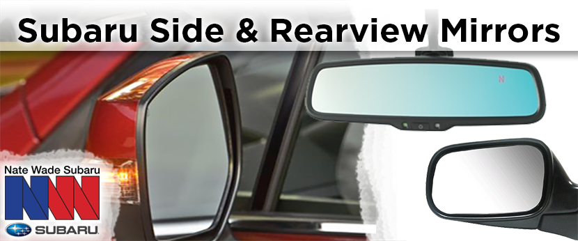 Learn more about genuine Subaru replacement mirrors in Salt Lake City, UT