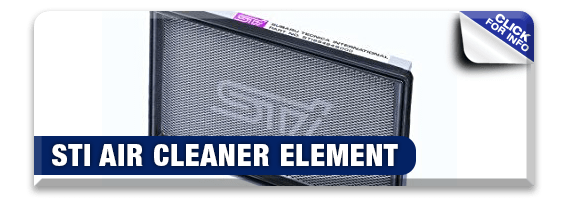 Click to learn more about genuine Subaru performance parts like a STI Air Cleaner Element available at Nate Wade Subaru in Salt Lake City, UT