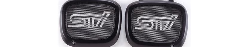 Subaru STi Fog Lamp Covers