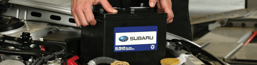 Bring your battery back to full power with our cleaning and maintenance services at Nate Wade Subaru