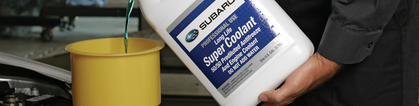 Keep your engine at the proper tempatures with our coolant services at Nate Wade Subaru in Salt Lake City, UT