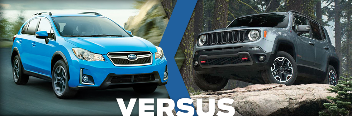 2016 subaru crosstrek vs jeep renegade model comparison. Black Bedroom Furniture Sets. Home Design Ideas