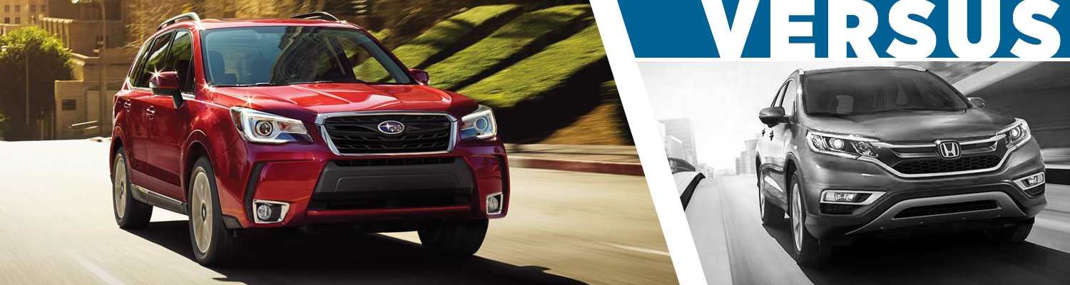 Compare 2017 Subaru Forester vs Honda CR-V Model Information