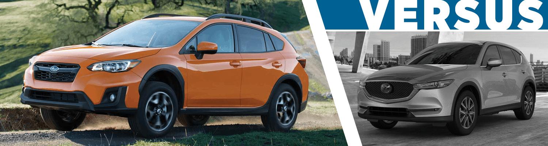 2018 Subaru Crosstrek vs 2018 Mazda CX-5 | Crossover Model