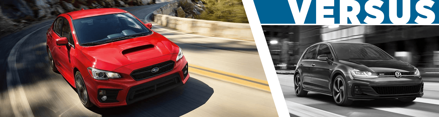 Wrx Vs Gti >> 2018 Subaru Wrx Vs 2018 Volkswagen Golf Gti Comparison