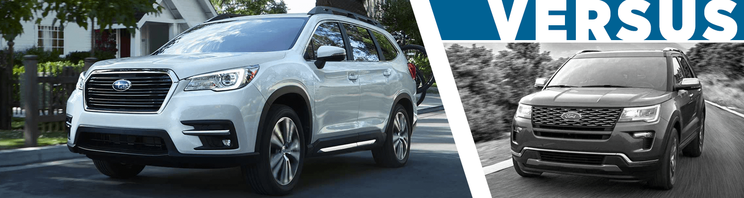 2019 Subaru Ascent vs 2018 Ford Explorer