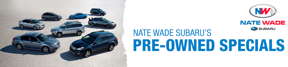 Used Car Specials from Nate Wade Subaru in Salt Lake City, UT