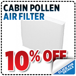 Click to view our cabin pollen air filter parts special in Salt Lake City, UT