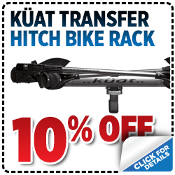 Click to view our Küat Transfer Hitch-Mount Bike Rack parts special in Salt Lake City, UT