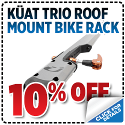 Click to view our Küat Trio Roof-Mount Bike Rack parts special in Salt Lake City, UT