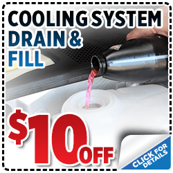 Click and save with this special Subaru service offer on a coolant drain and fill service in Salt Lake City, UT