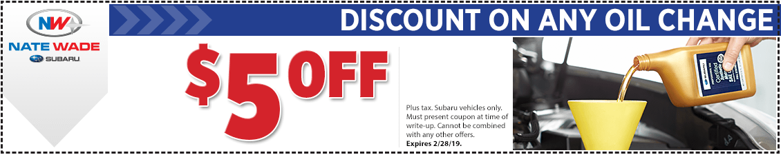 Save on oil change service for your Subaru in Salt Lake City, UT