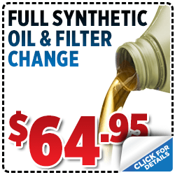 Click and save with this special Subaru service offer on a synthetic oil and filter change service in Salt Lake City, UT