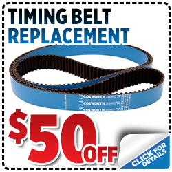 Click here to learn more about this Salt Lake City, UT Subaru timing belt replacement service discount special offer