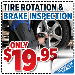 Click to View Our Subaru Tire Rotation & Brake Inspection Service Special in Salt Lake City, UT