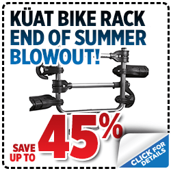 Click to view our Kuat Bike Rack Summer Blow Out Parts Special at Nate Wade Subaru in Salt Lake City, UT
