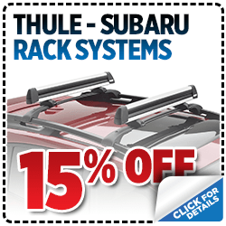 Click to view our Thule Subaru Rack System Parts Special at Nate Wade Subaru in Salt Lake City, UT