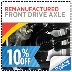Click to view our Genuine Subaru Remanufactured Front Drive Axle Parts Special in Salt Lake City, UT