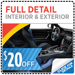 Click here to learn more about this Salt Lake City, UT Subaru full detail service discount special offer