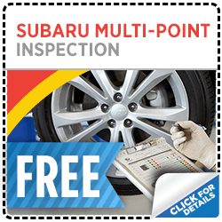 Click here to learn more about this Salt Lake City, UT Subaru free multi-point inspection service special offer