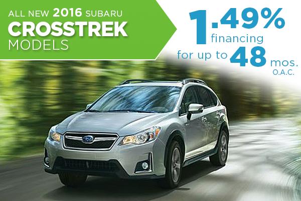 2016 Subaru Crosstrek Special 1.49% Financing at Nate Wade Subaru in Salt Lake City, UT