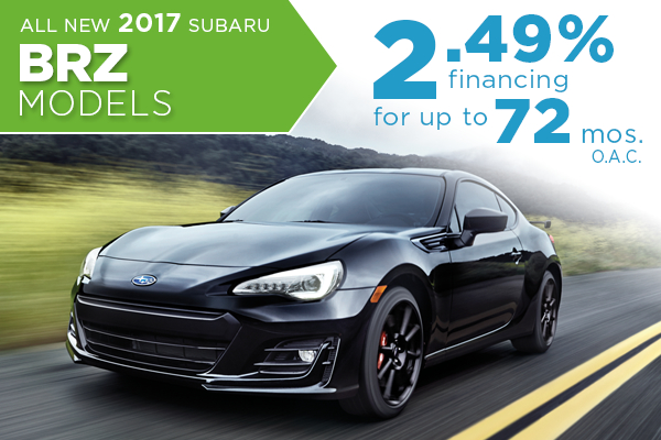 Salt Lake City New Subaru BRZ Finance Special, Utah