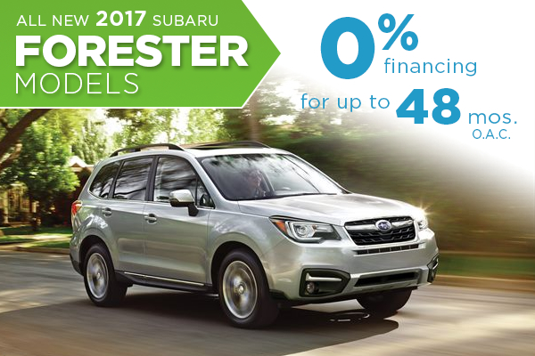 2017 Subaru Forester 0% APR Finance Special in Salt Lake City, UT