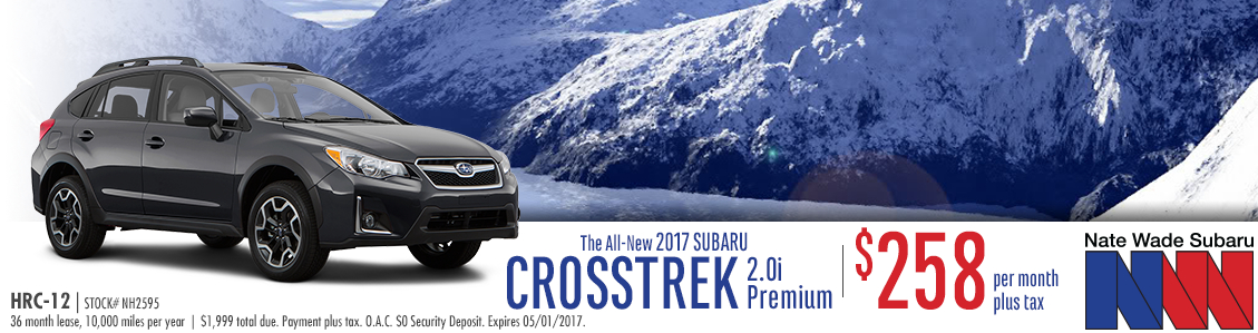 2017 Subaru Crosstrek 2.0i Premium Lease Special in Salt Lake City, UT