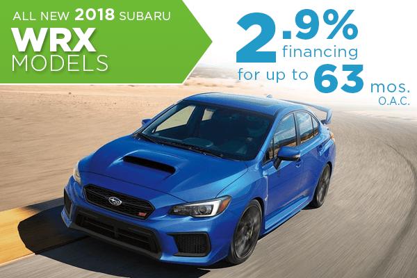 2018 subaru 0 financing. Brilliant 2018 All New 2018 Subaru WRX 29 Finance Offer Serving Taylorsville U0026 Salt Lake  City In Subaru 0 Financing