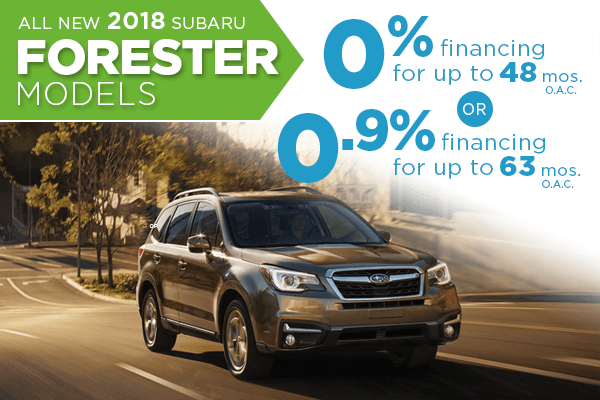 Salt Lake City New Subaru Forester Finance Special, Utah